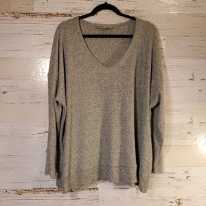 Absolutely Famous v-neck comfy sweater